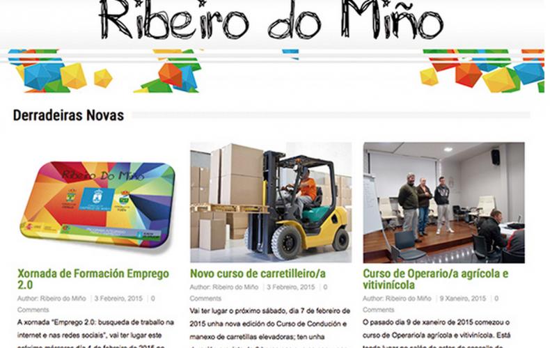 O noso traballo: deseño WEB