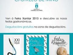 O noso traballo: Gastronomía de Castrelo de Miño en Xantar
