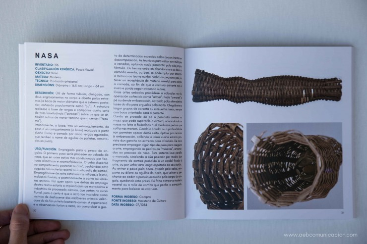 """Catálogo """"A pesca Fluvial"""""""