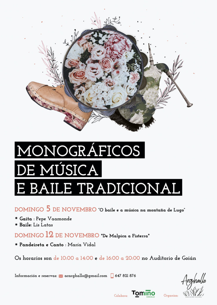 Monográficos de música tradicional galega