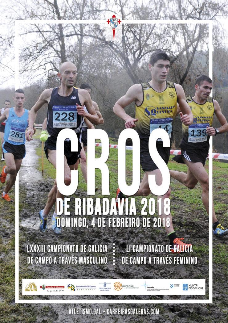 Atletismo galego: Cros de Ribadavia 2018